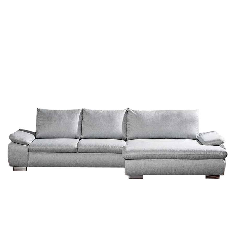 peace ecksofa mit schlaffunktion bezug strukturstoff schwarz wei home24. Black Bedroom Furniture Sets. Home Design Ideas