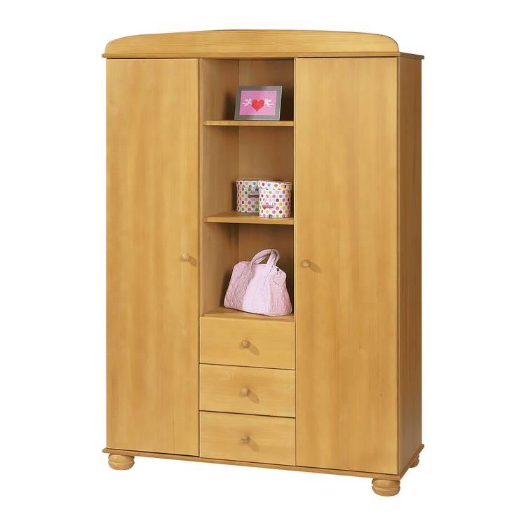 pinolino kinderkleiderschrank f r ein modernes kinderzimmer home24. Black Bedroom Furniture Sets. Home Design Ideas