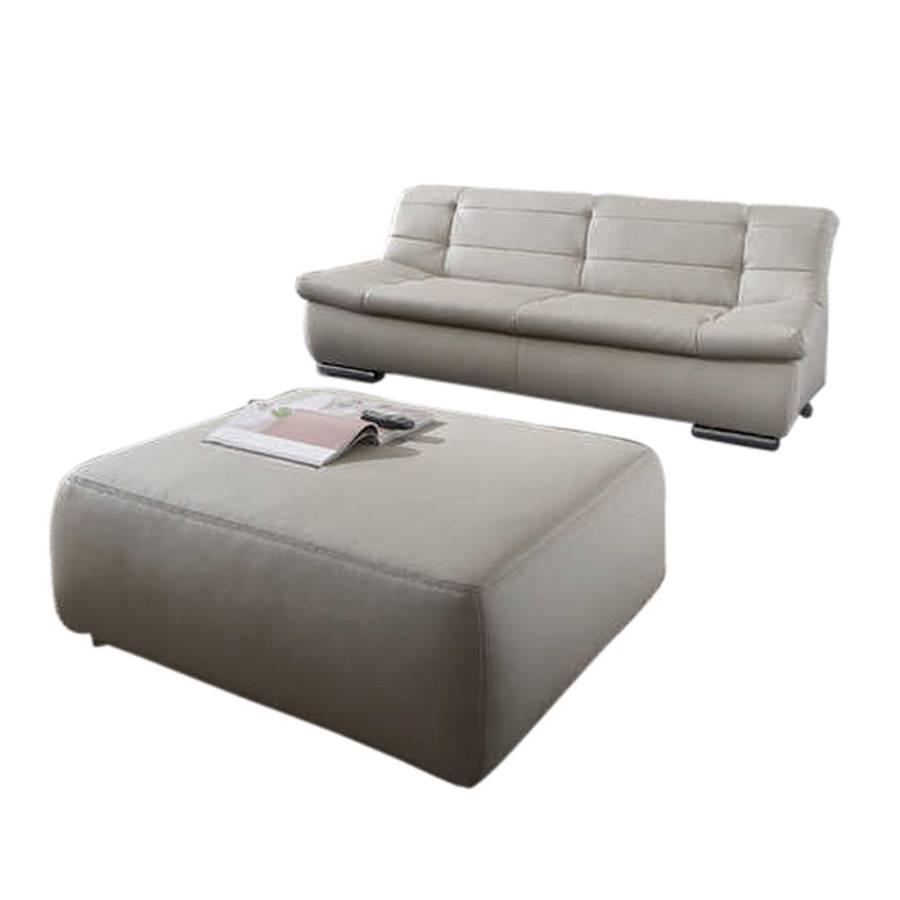 polstergarnitur pisa 2 teilig 2 sitzer und 1 hocker home24. Black Bedroom Furniture Sets. Home Design Ideas
