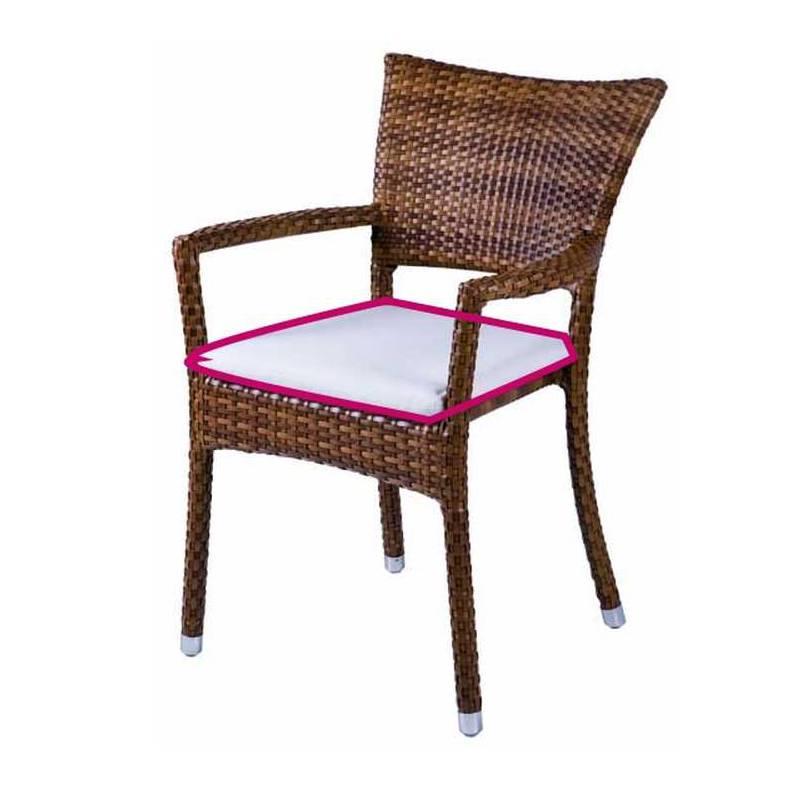 Coussin d 39 assise pour fauteuil de jardin prinz royal - Coussins pour fauteuil de jardin ...