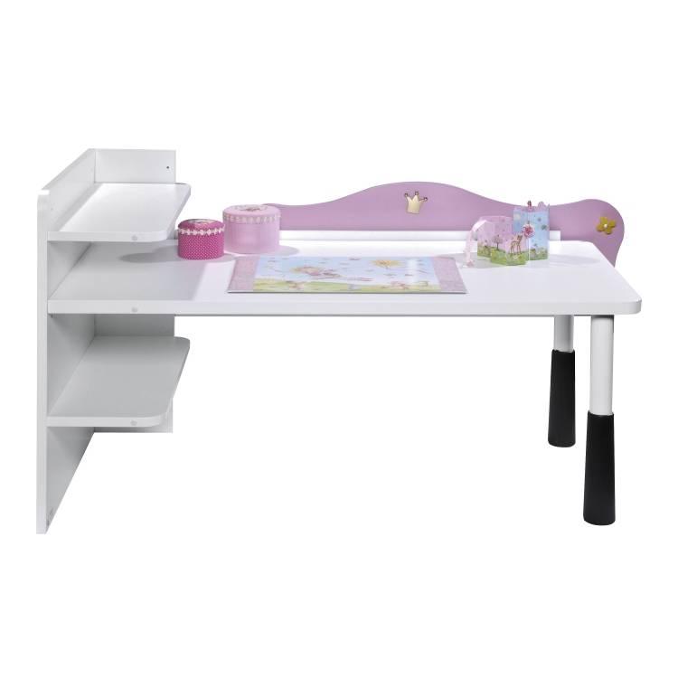 schreibtisch prinzessin lillifee wei. Black Bedroom Furniture Sets. Home Design Ideas