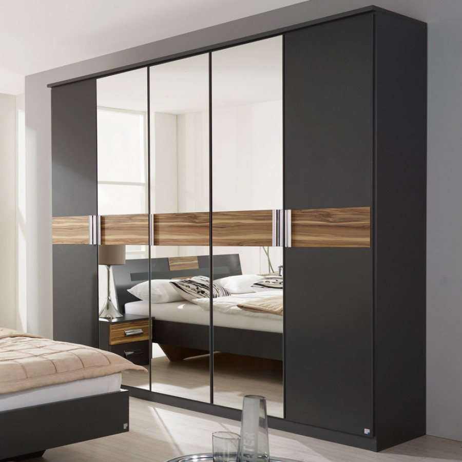 schlafzimmer set brione 4 teilig bett schrank 2. Black Bedroom Furniture Sets. Home Design Ideas