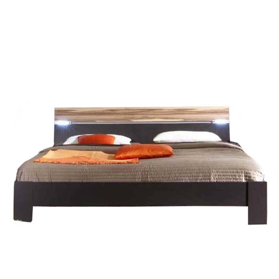 bett madrid lava baltimore walnut home24. Black Bedroom Furniture Sets. Home Design Ideas