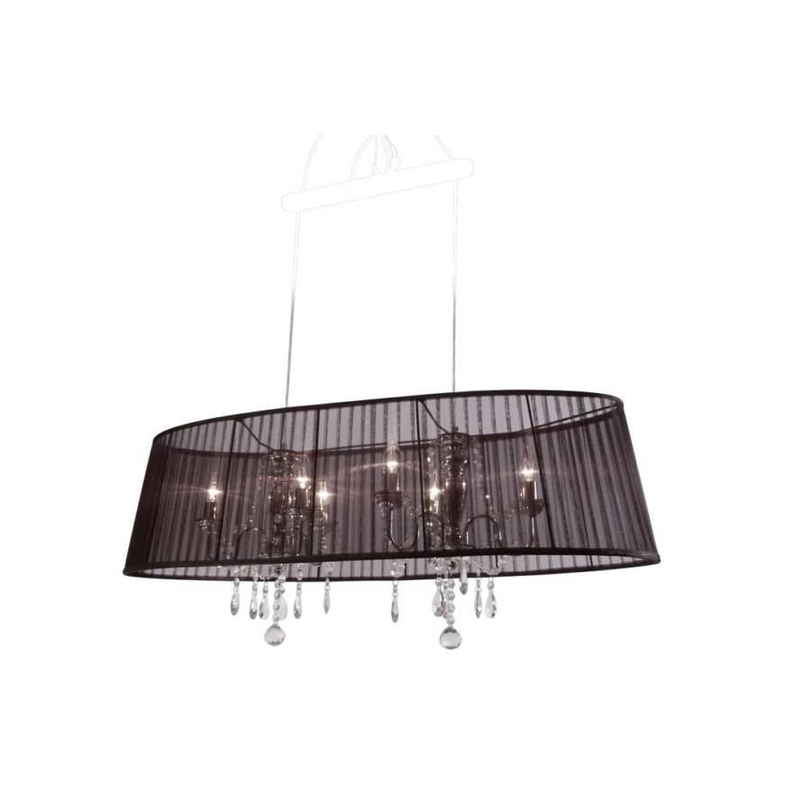 pendelleuchte organza oval home24. Black Bedroom Furniture Sets. Home Design Ideas