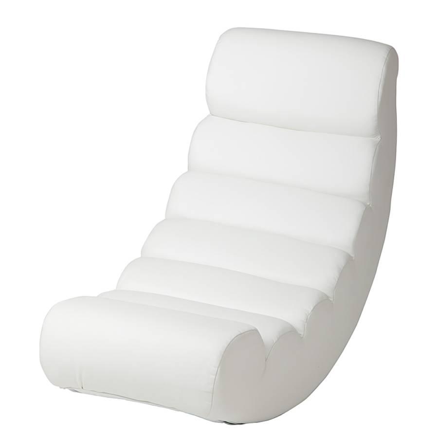 Relaxstoel swingster wit for Relax stoel