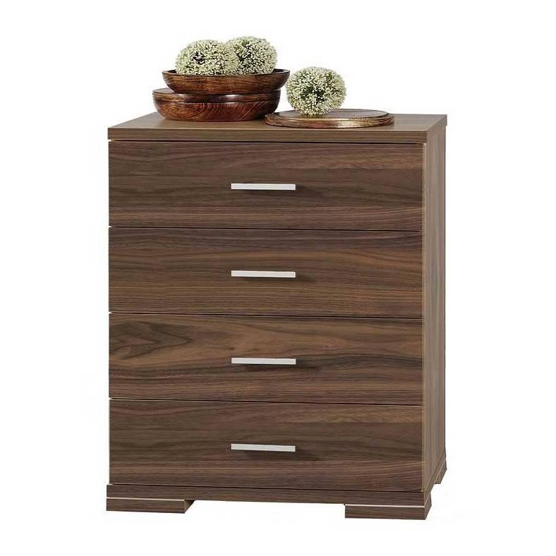 schubkastenkommode torino korpus nussbaum furniert home24. Black Bedroom Furniture Sets. Home Design Ideas