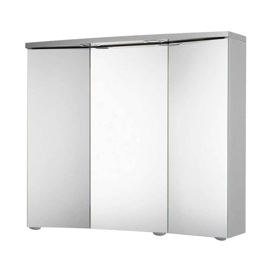 Armadio a specchio trava color alluminio home24 - Alluminio lucidato a specchio ...