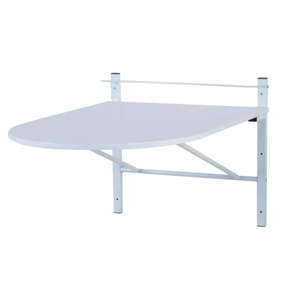 letitia wit stalen buizen opklapbaar ovaal. Black Bedroom Furniture Sets. Home Design Ideas
