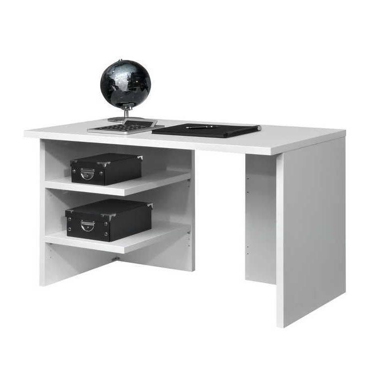 schreibtisch work mit 2 ablagen home24. Black Bedroom Furniture Sets. Home Design Ideas