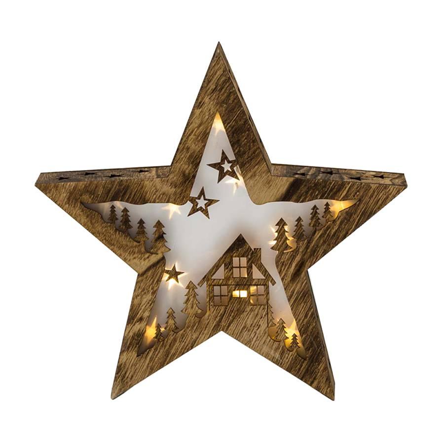 3d leuchtstern winterwald holz kunststoff home24. Black Bedroom Furniture Sets. Home Design Ideas