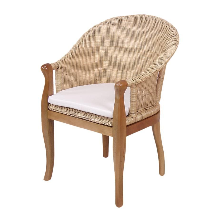 armlehnenstuhl hika peddigrohr pinie beige home24. Black Bedroom Furniture Sets. Home Design Ideas