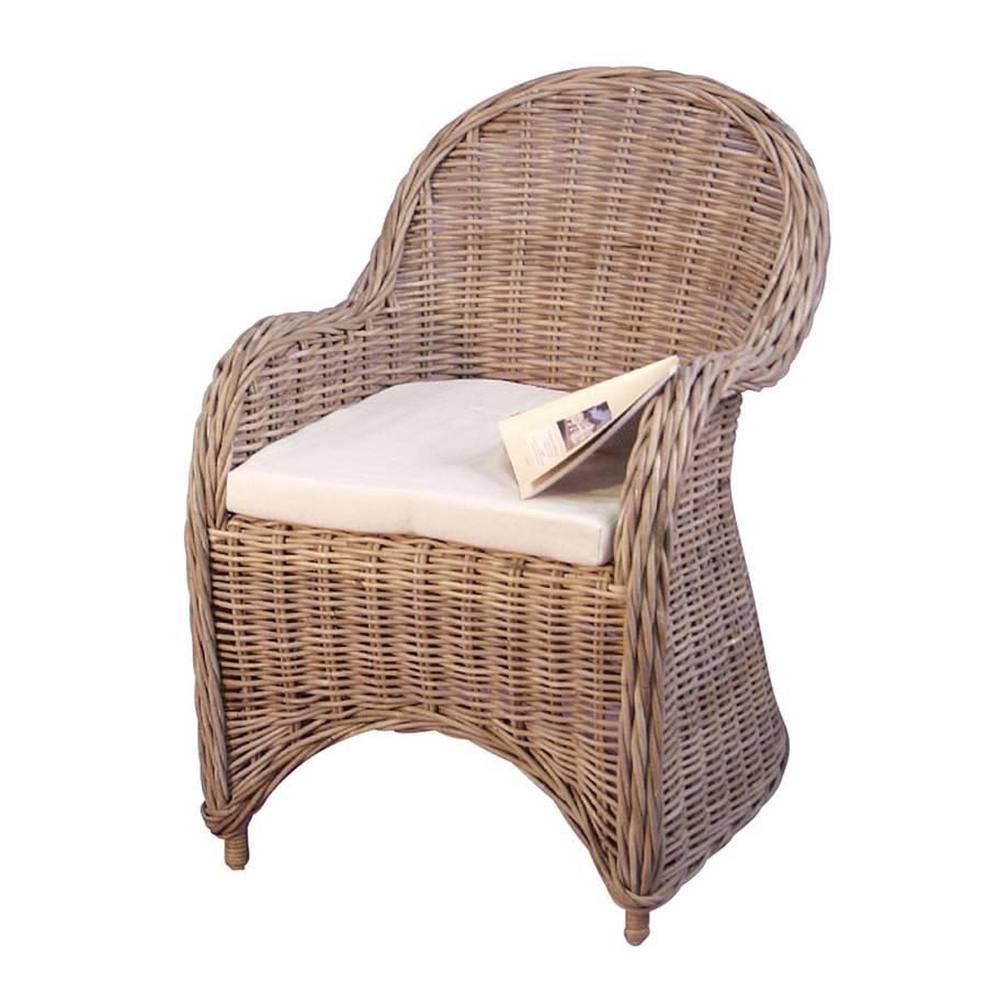 armlehnenstuhl rosalie i inklusive sitzkissen kubu. Black Bedroom Furniture Sets. Home Design Ideas