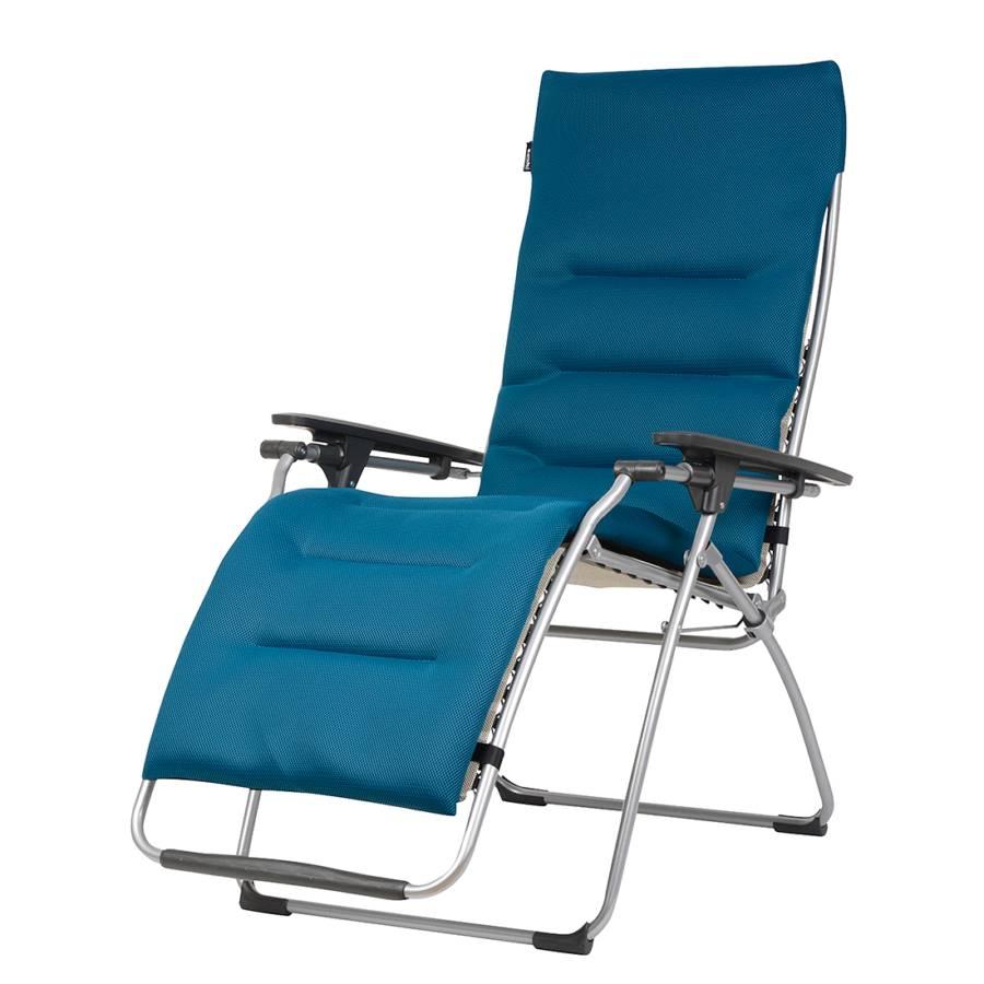 coussin matelass pour chaise longue futura garden bleu. Black Bedroom Furniture Sets. Home Design Ideas