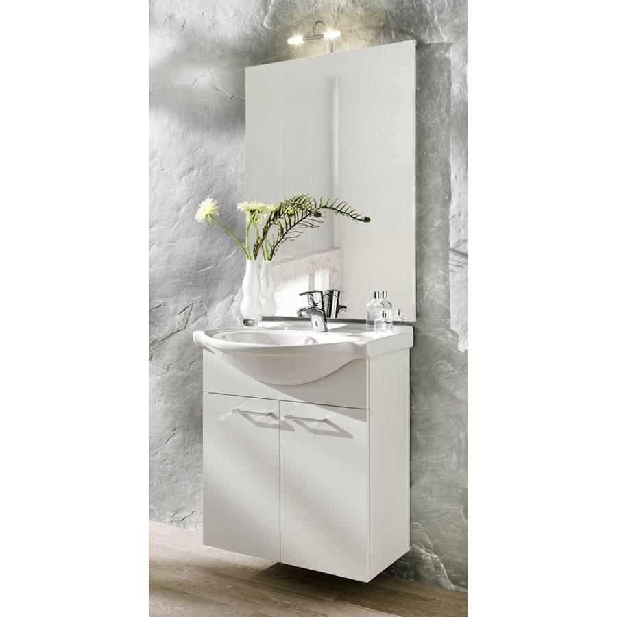 Meuble lavabo auro petit mod le for Petit meuble lavabo