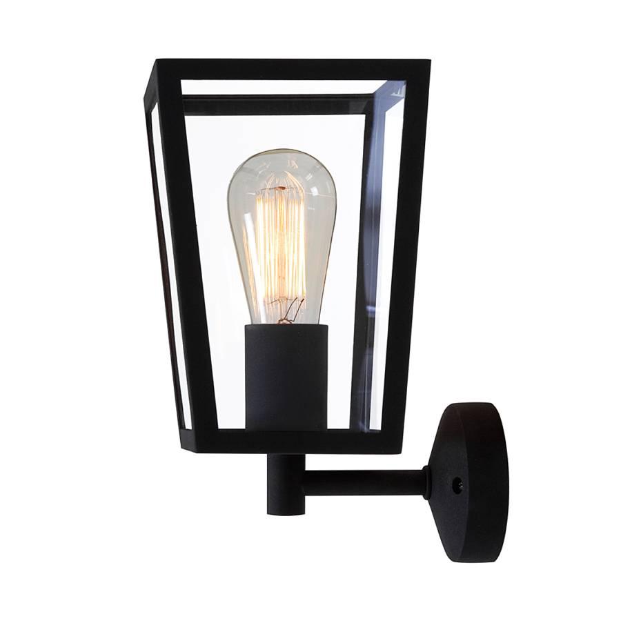Luminaire d 39 ext rieur calvi chrome 1 ampoule for Luminaire d exterieur