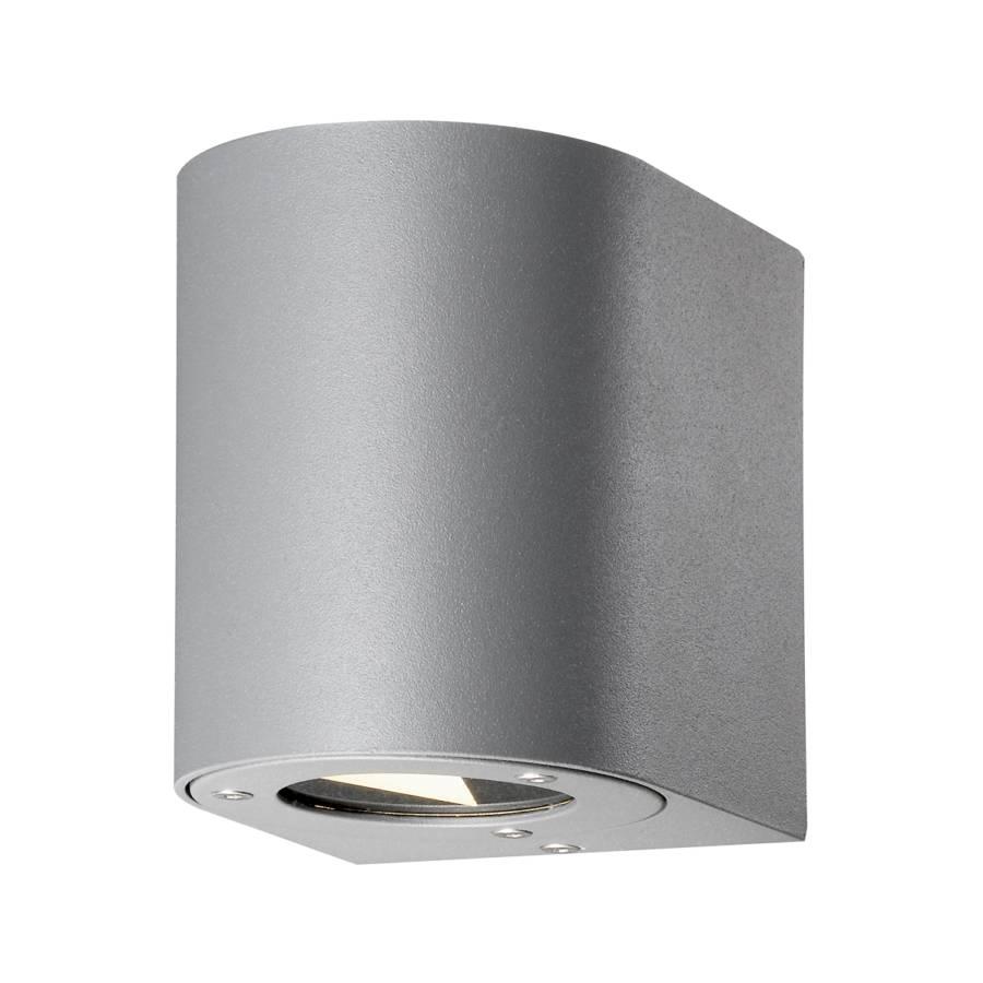 Luminaire d 39 ext rieur led canto aluminium gris 2 for Luminaire d exterieur
