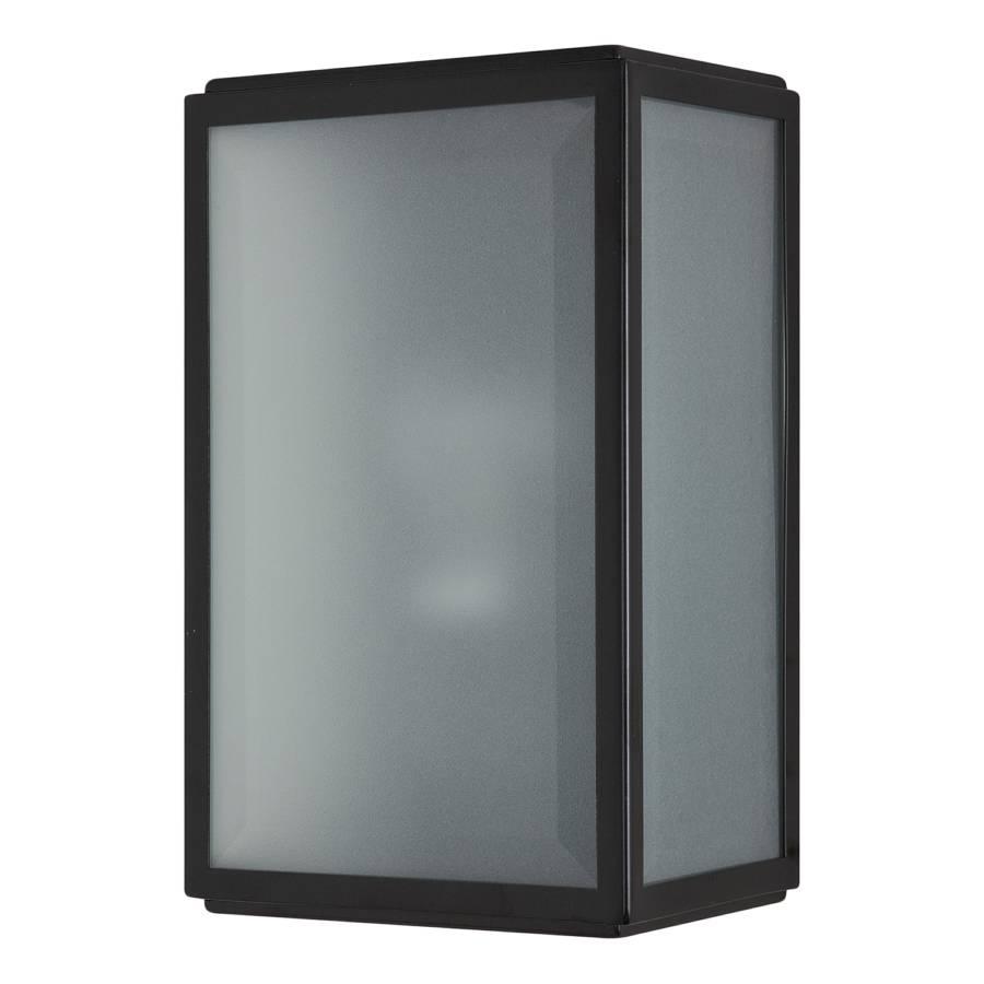 Buitenlamp homefield roestvrij staal zwart 1 lichtbron - Dressoir roestvrij tailor ...
