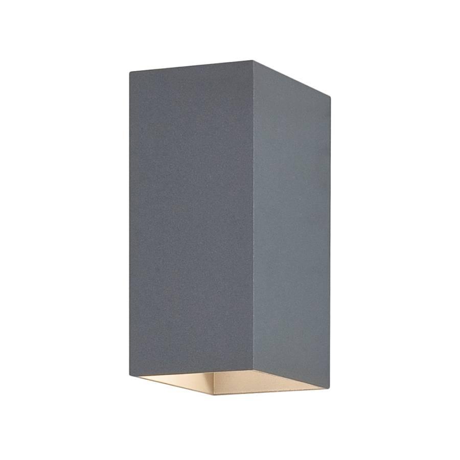 Luminaire d 39 ext rieur oslo 160 nickel mat 2 ampoules for Luminaire d exterieur