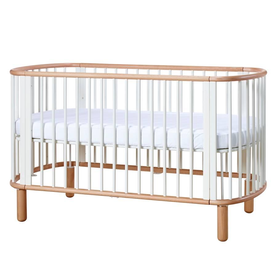 babybett flexa baby buche massiv. Black Bedroom Furniture Sets. Home Design Ideas