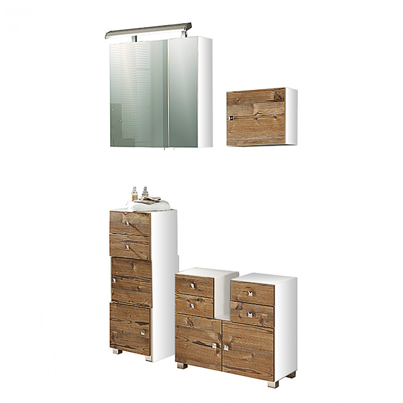 L ments de salle de bain for Element salle de bain pas cher