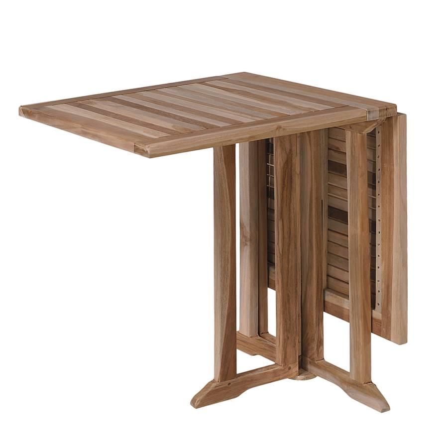 balkontisch milford teakholz massiv home24. Black Bedroom Furniture Sets. Home Design Ideas