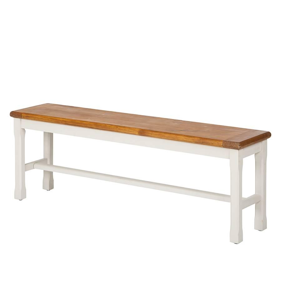 Houten bank boddo wit - Tafel eetkamer hout wit ...