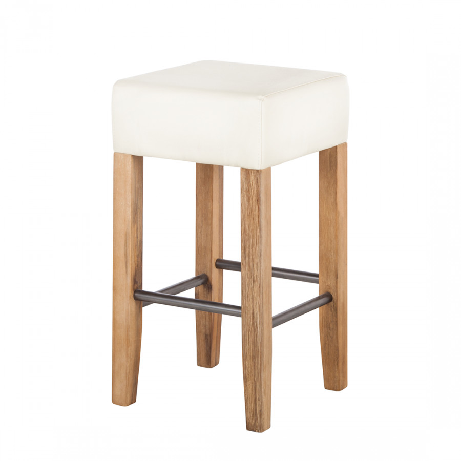 Tabouret de bar couleur sable for Tabouret bar couleur