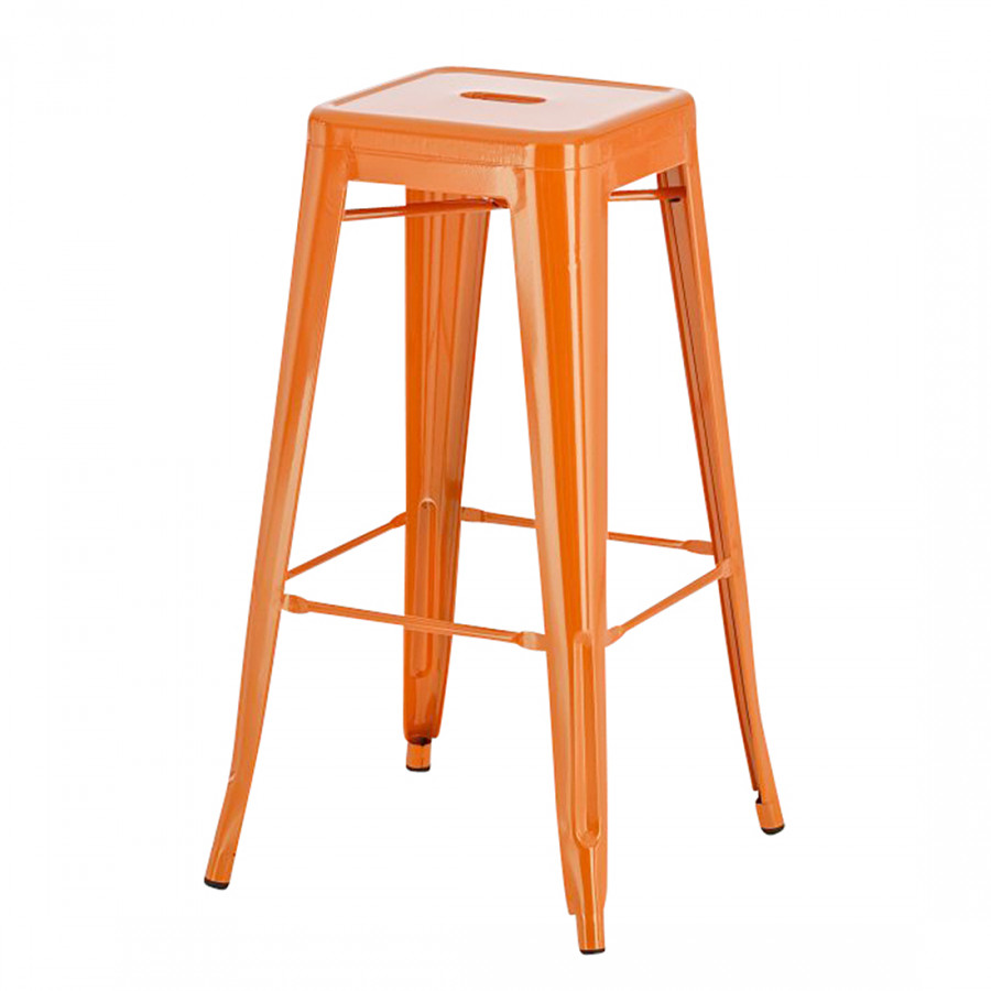 Barhocker joshua orange home24 for Barhocker orange