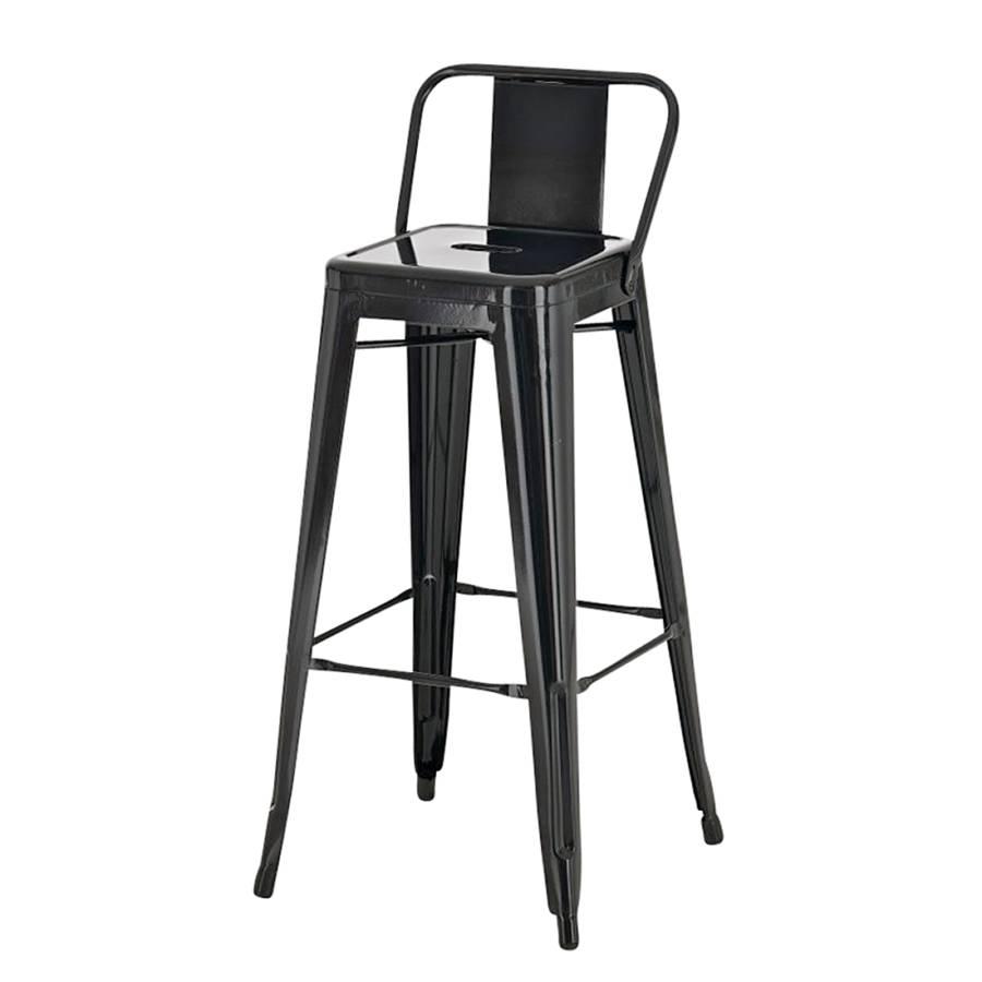 barhocker mason schwarz metall lackiert. Black Bedroom Furniture Sets. Home Design Ideas