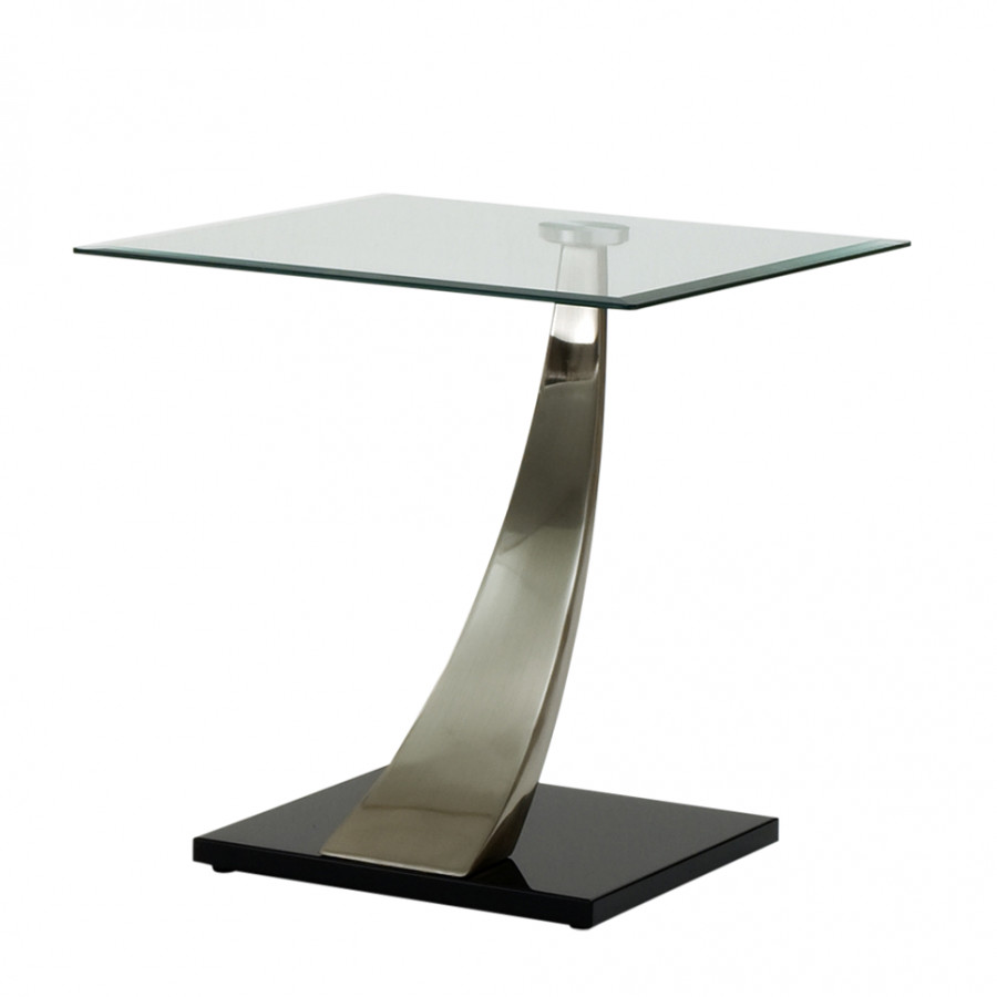 beistelltisch amadeo glas metall home24. Black Bedroom Furniture Sets. Home Design Ideas