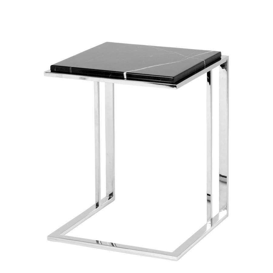 beistelltisch cocktail stahl marmor home24. Black Bedroom Furniture Sets. Home Design Ideas