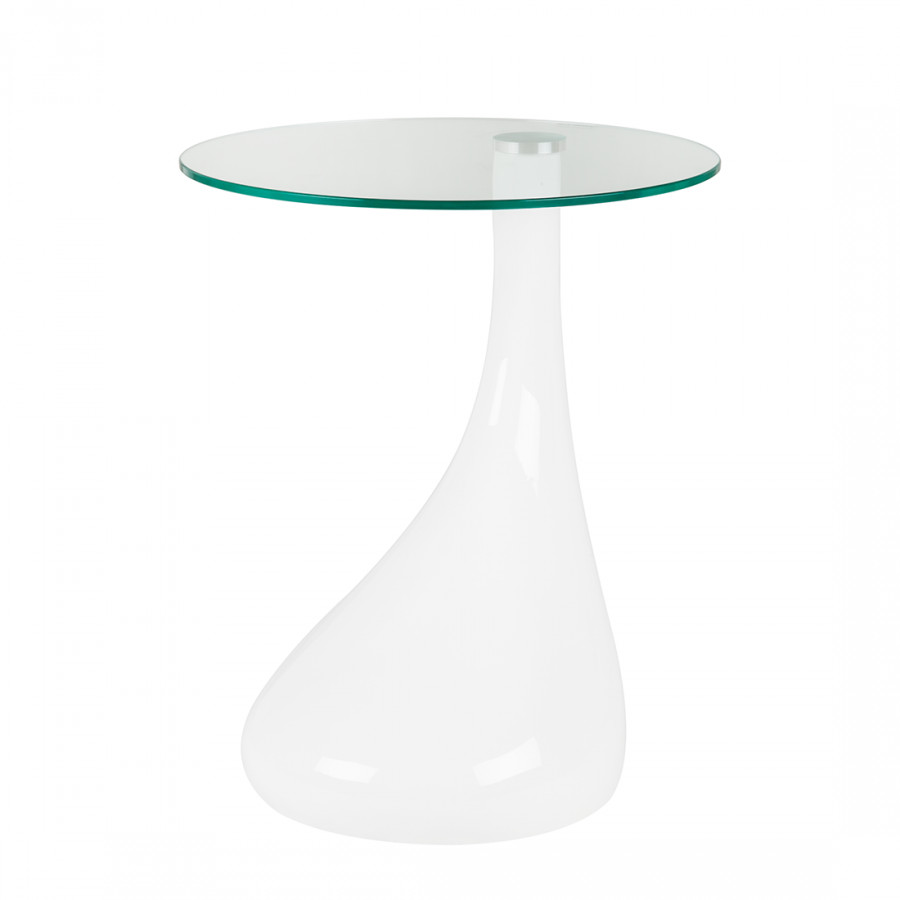 Table d 39 appoint fly blanc - Table d appoint fly ...