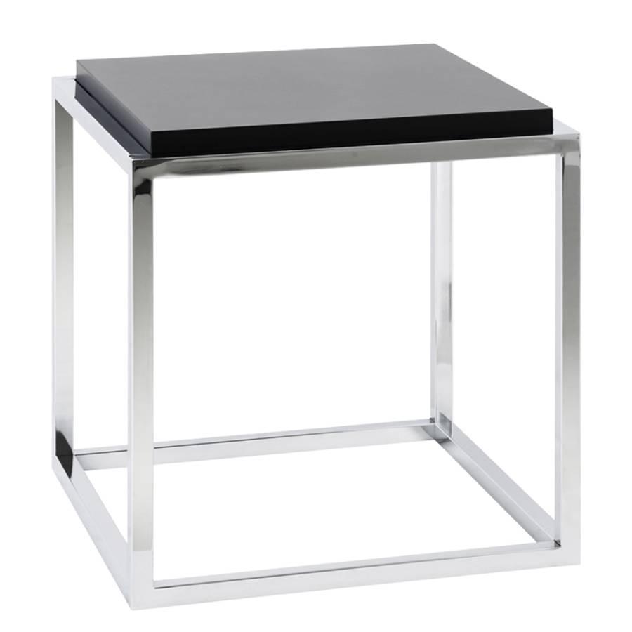 Beistelltisch schwarz metall beistelltisch metall schwarz for Beistelltisch 45x45