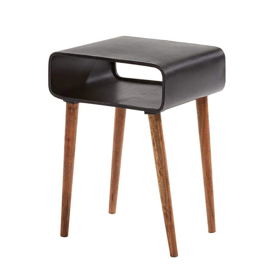 beistelltisch murphysboro schwarz. Black Bedroom Furniture Sets. Home Design Ideas