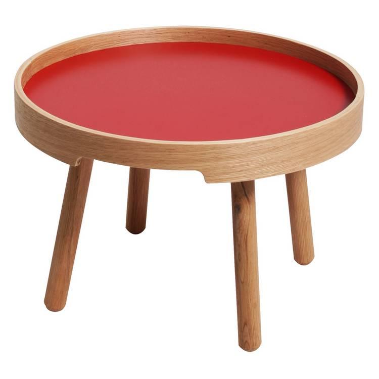beistelltisch robin rot home24. Black Bedroom Furniture Sets. Home Design Ideas