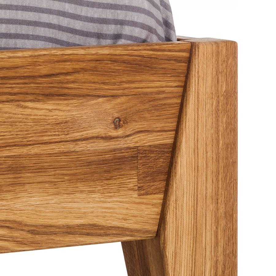 massivholzbett jillwood eiche massiv home24. Black Bedroom Furniture Sets. Home Design Ideas