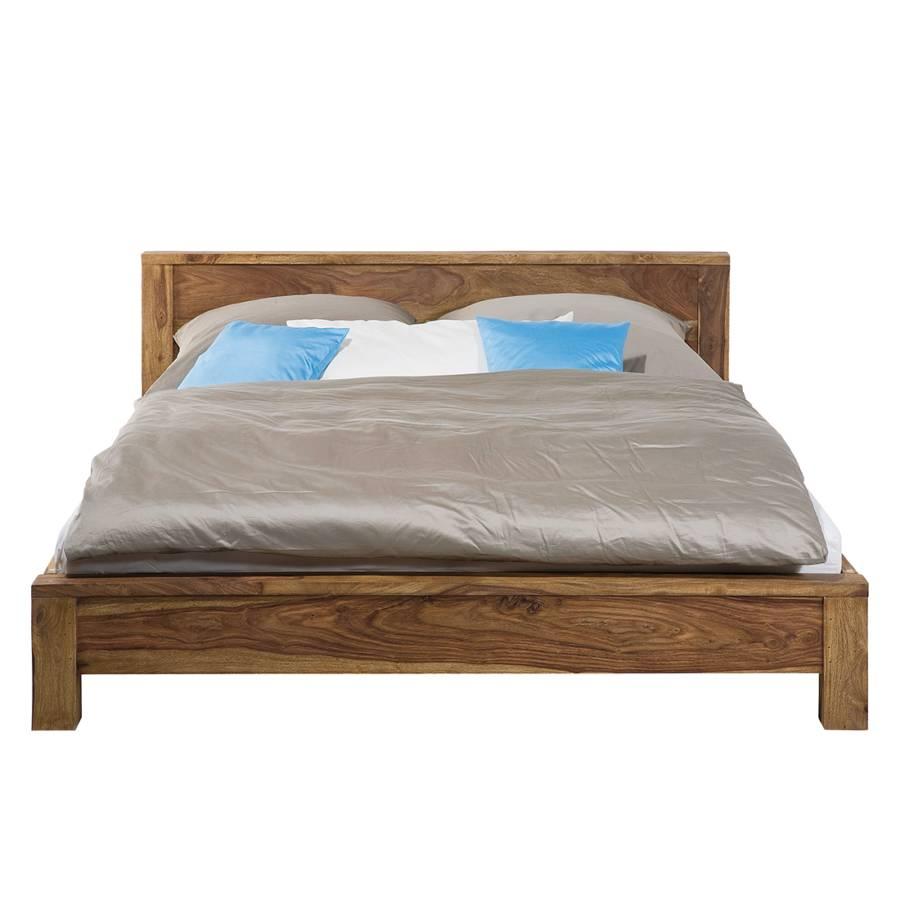 bett authentico sheesham massiv home24. Black Bedroom Furniture Sets. Home Design Ideas