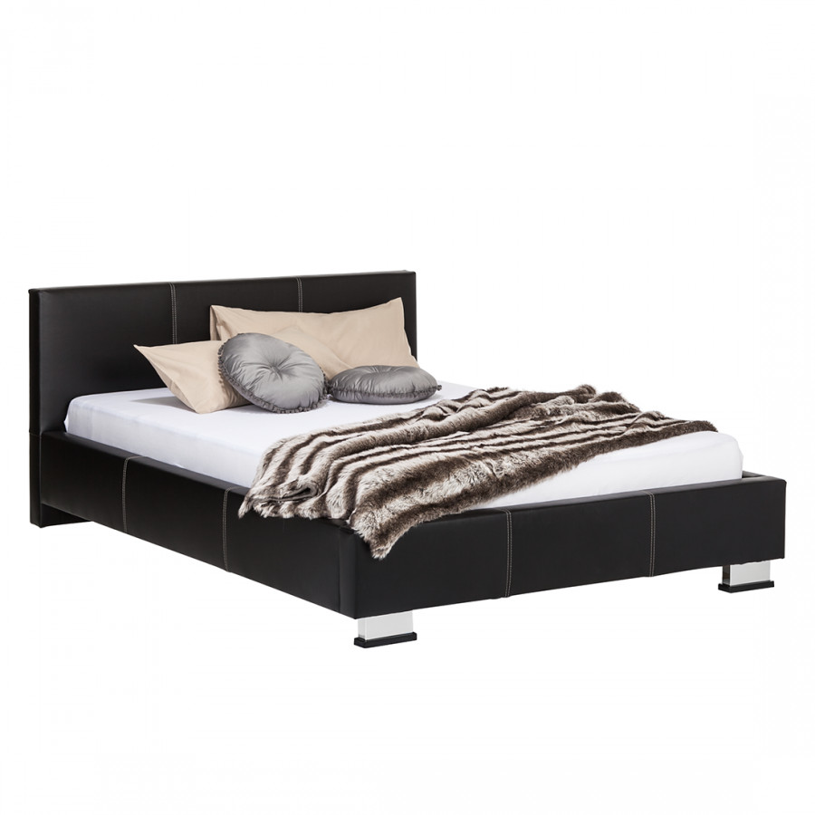 bed dunedin zwart. Black Bedroom Furniture Sets. Home Design Ideas