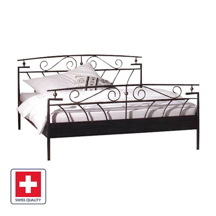 bett florenz schwarz. Black Bedroom Furniture Sets. Home Design Ideas