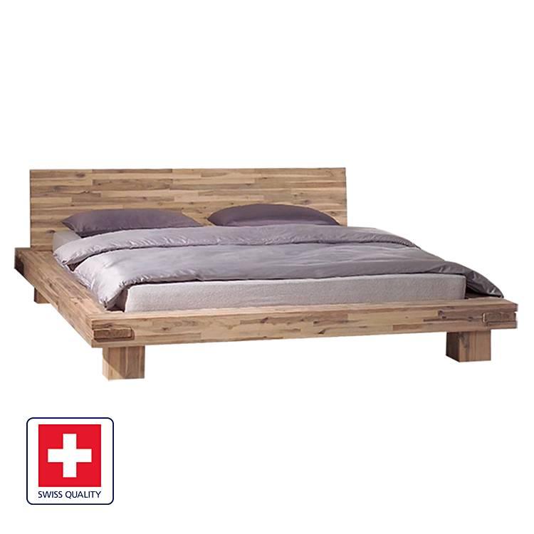 bett lima akazie massiv home24. Black Bedroom Furniture Sets. Home Design Ideas