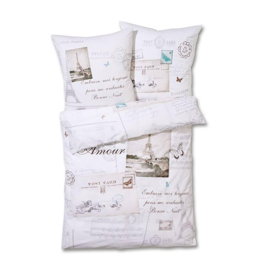 bettw sche eifelturm baumwolle home24. Black Bedroom Furniture Sets. Home Design Ideas