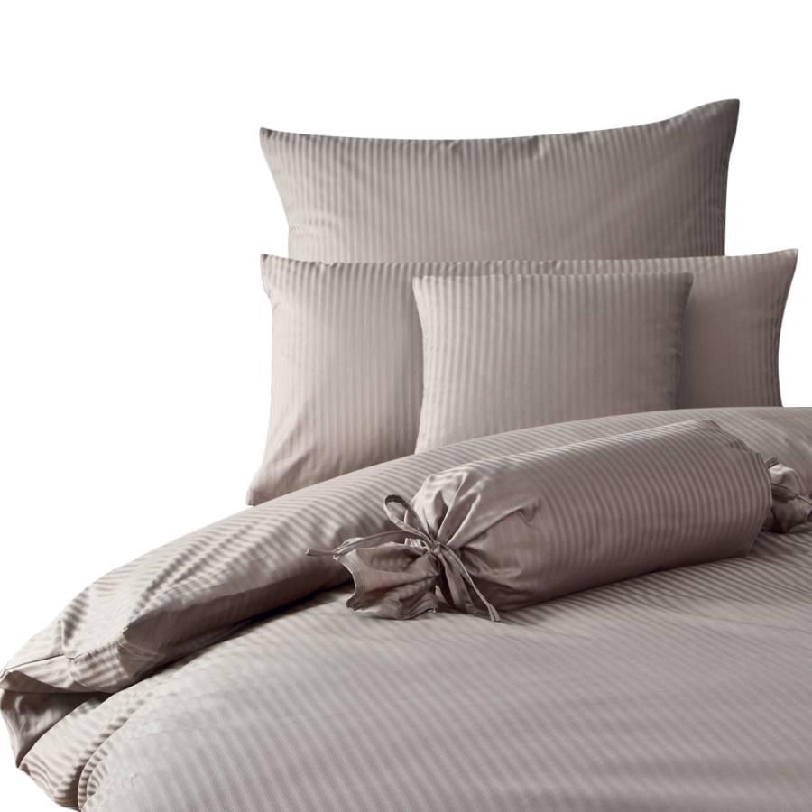 bettwaesche rubin streifen taubengrau 200 x 220 cm kissen 80 x 80 cm. Black Bedroom Furniture Sets. Home Design Ideas