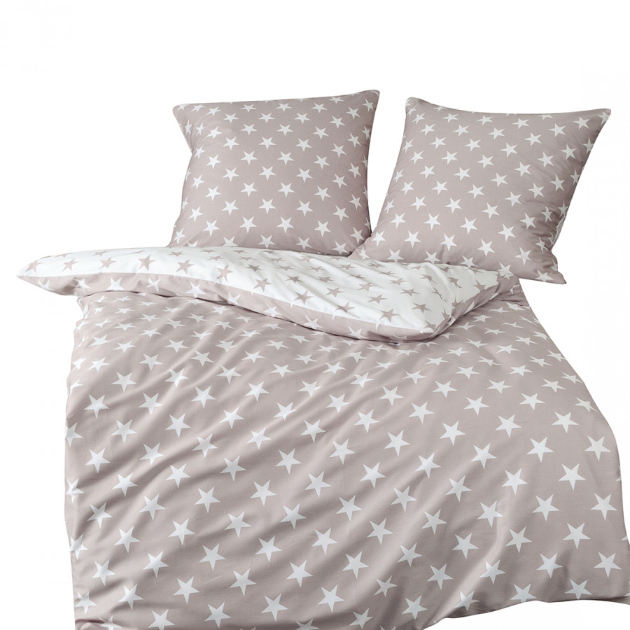 bettwaesche stern i taubengrau 200 x 220 cm kissen 80 x 80 cm 1663674. Black Bedroom Furniture Sets. Home Design Ideas