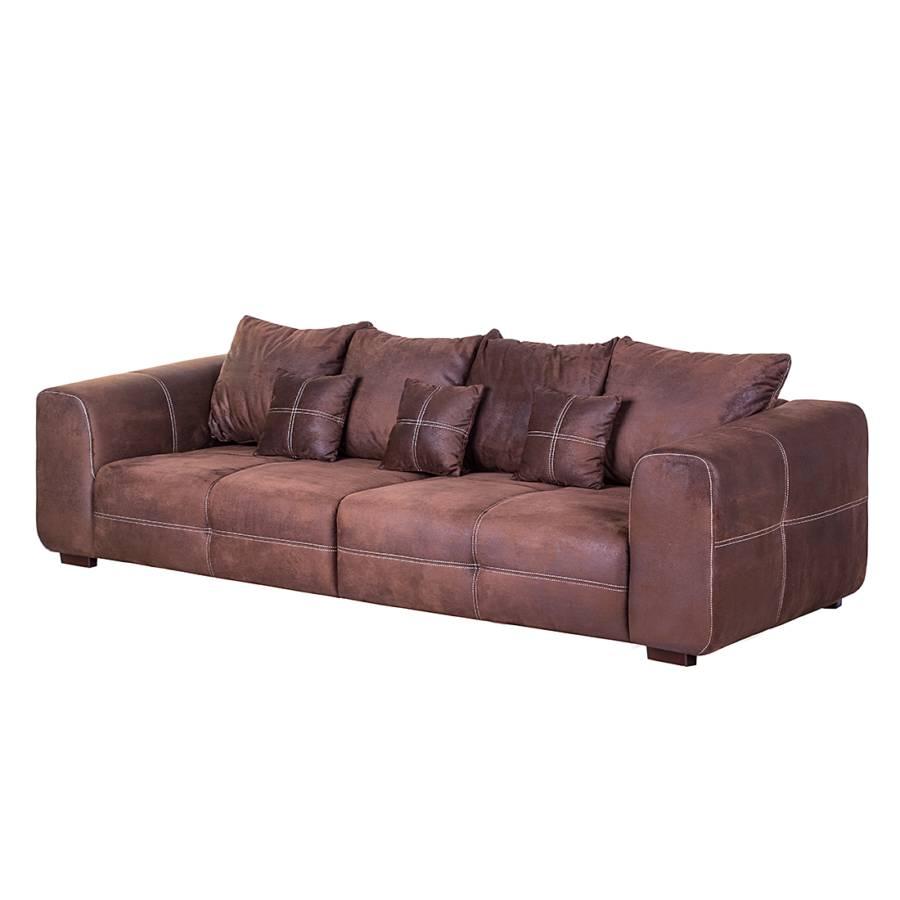 Xxl sofa von nuovoform bei home24 bestellen home24 - Sofa antiklederoptik ...