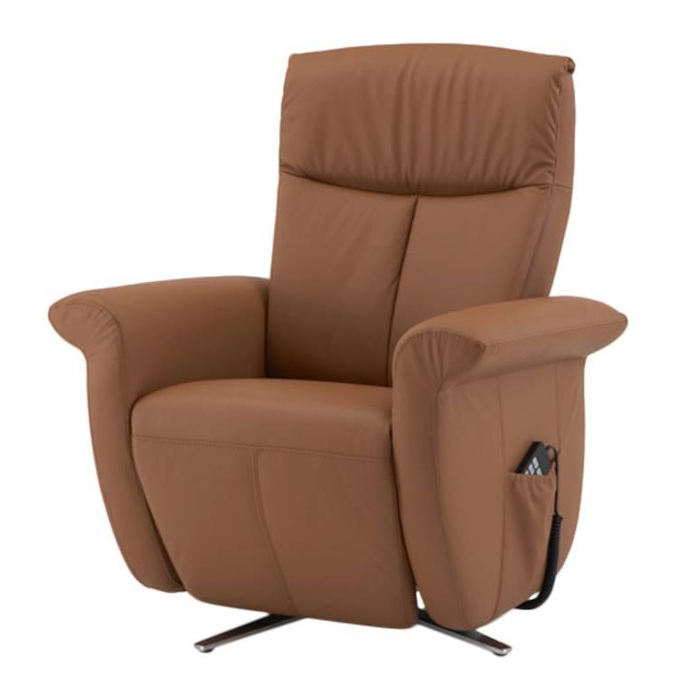 D sormais disponible sur home24 fauteuil relax par nuovoform - Fauteuil relax cuir marron ...