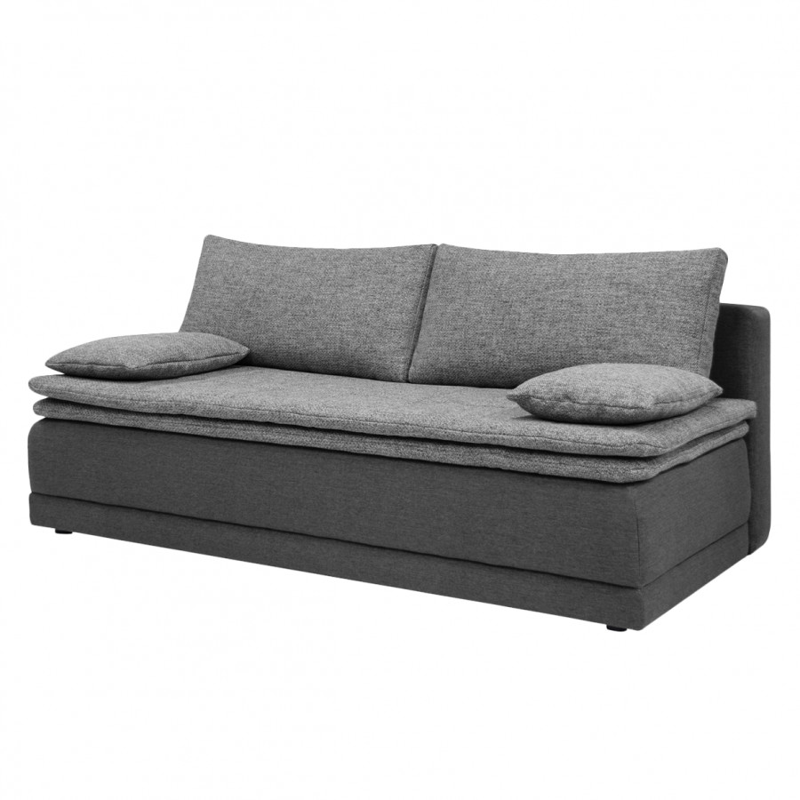 boxspring schlafsofa waco webstoff strukturstoff home24. Black Bedroom Furniture Sets. Home Design Ideas