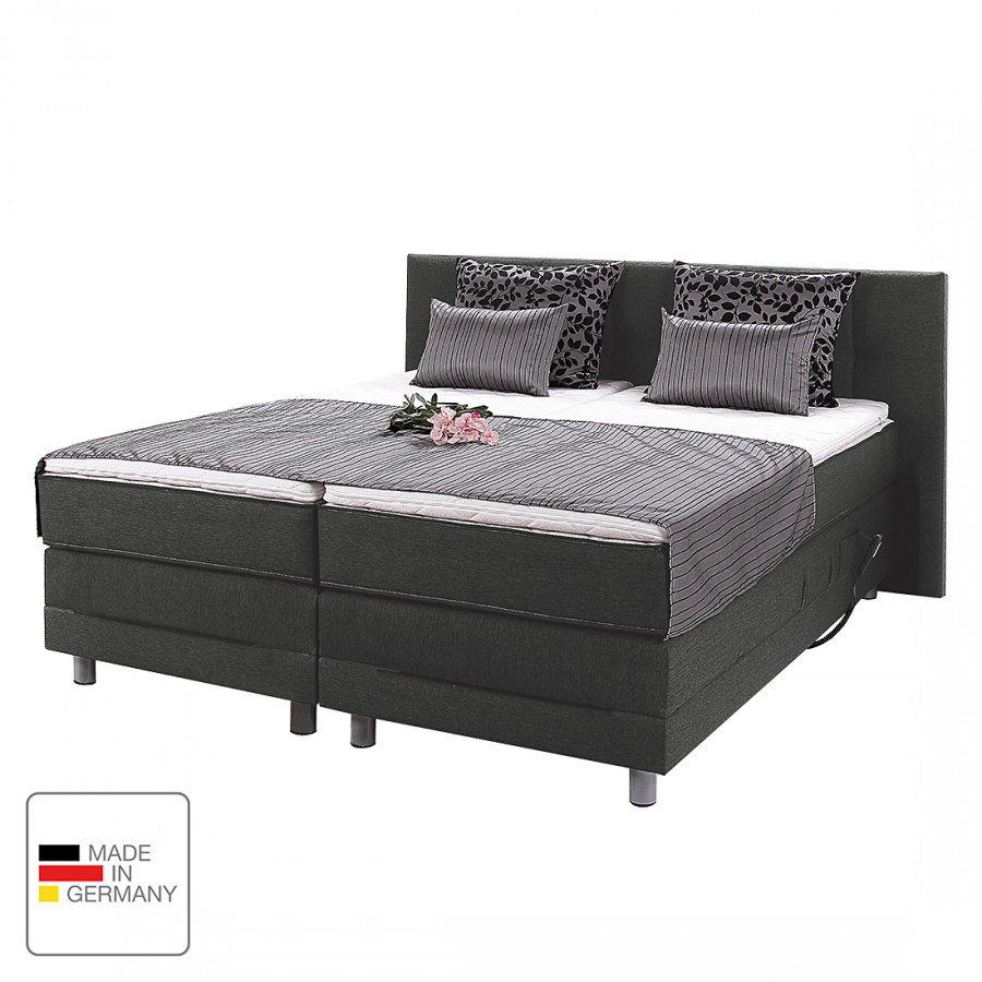 boxspringbett kendrick mit motor inkl topper kaufen home24. Black Bedroom Furniture Sets. Home Design Ideas