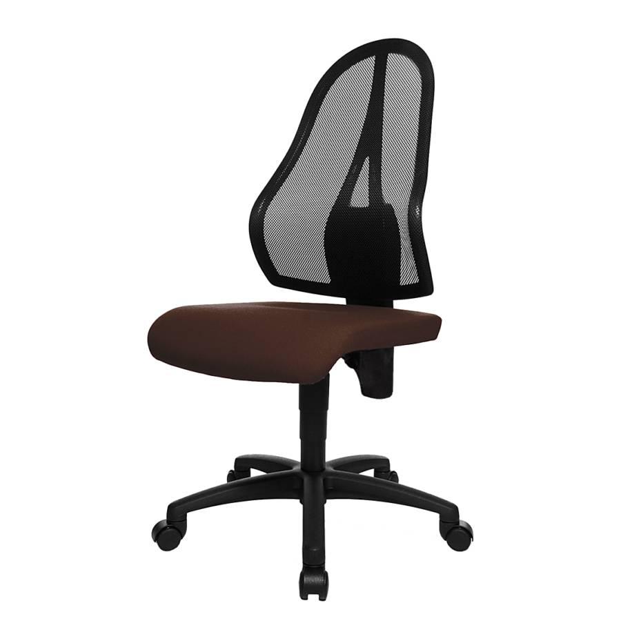 b rodrehstuhl open point braun schwarz home24. Black Bedroom Furniture Sets. Home Design Ideas