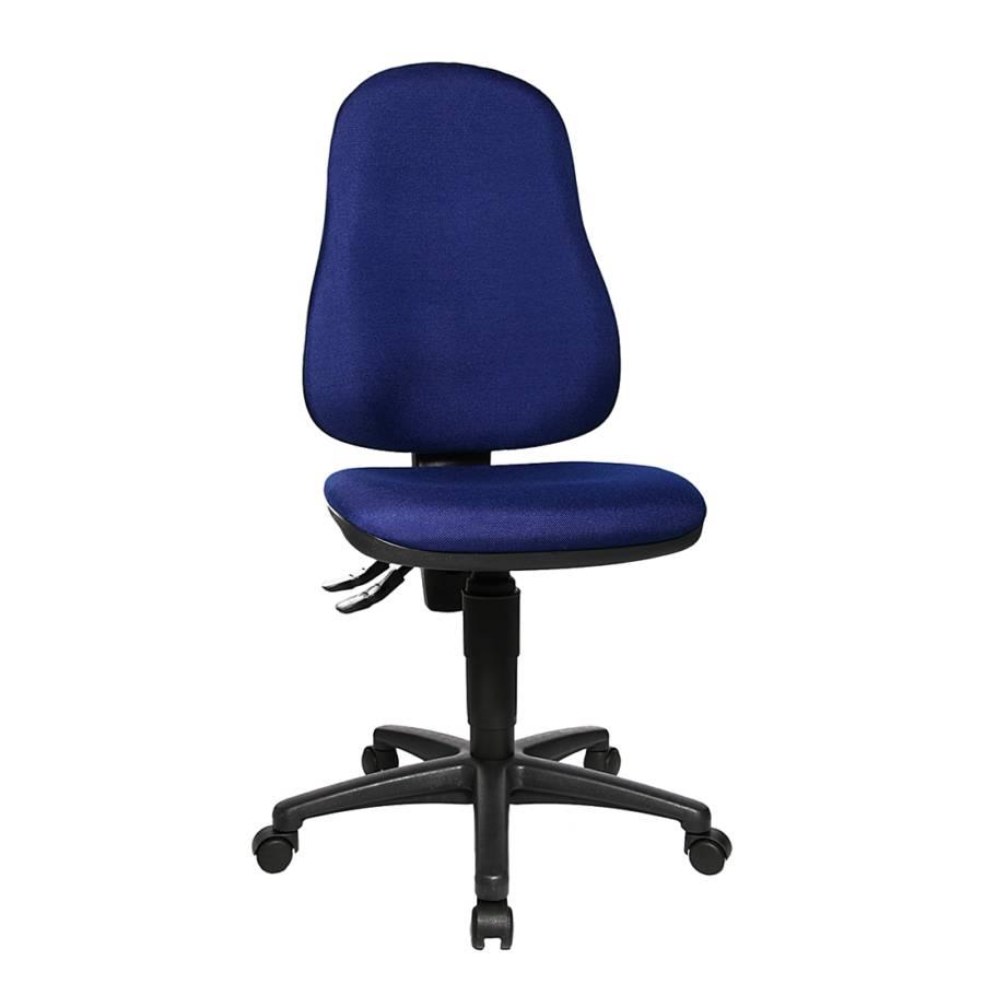 b rostuhl point 60 blau schwarz home24. Black Bedroom Furniture Sets. Home Design Ideas