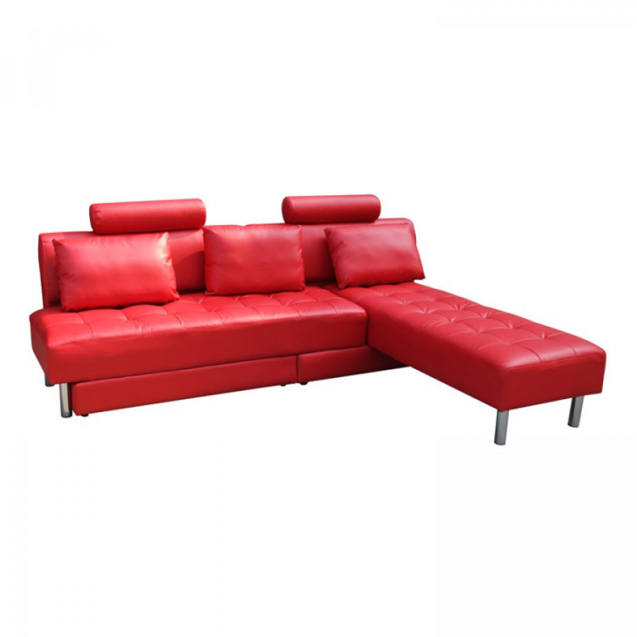 Canap convertible rome rouge - Canape convertible rouge ...